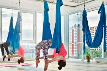 Аэройога: новый взгляд на фитнес