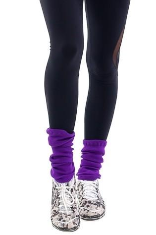 Фиолетовые гетры для фитнеса 35см gp.01.57