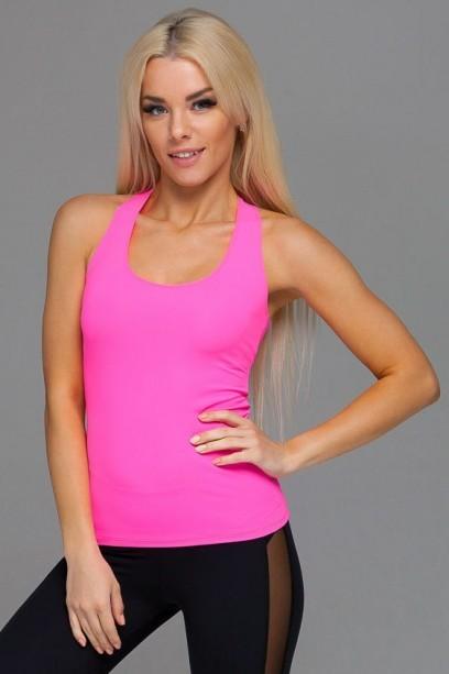 Ярко-розовая спортивная майка mk.030.54