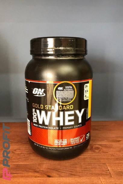 Протеин Optimum Nutrition 100% Whey Gold Standart банановый крем